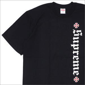 SUPREME(シュプリーム) x INDEPENDENT(インディペンデント) Old English Tee (Tシャツ) BLACK 200-007661-041+【新品】(半袖Tシャツ)|essense