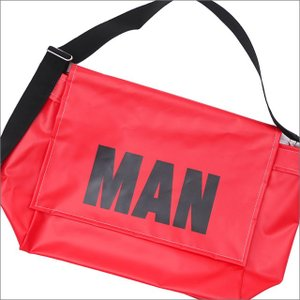 COMME des GARCONS JUNYA WATANABE MAN (コムデギャルソン) MAN MESSENGER BAG (メッセンジャーバッグ) RED 277-002475-013x【新品】(グッズ)|essense