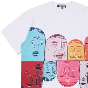 COMME des GARCONS HOMME DEUX(コムデギャルソン オムドゥー) x Barry McGee FACE TEE (Tシャツ) WHITE 200-007709-040x【新品】(半袖Tシャツ)|essense