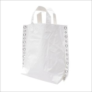 tricot COMME des GARCONS(トリコ コムデギャルソン) EYELET TOTE BAG (トートバッグ) WHITE 277-002476-010x【新品】(グッズ)|essense