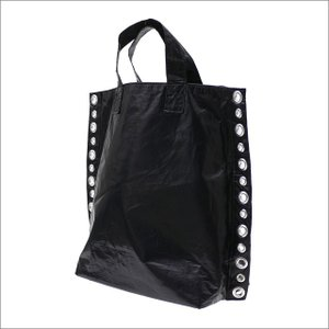 tricot COMME des GARCONS(トリコ コムデギャルソン) EYELET TOTE BAG (トートバッグ) BLACK 277-002476-011x【新品】(グッズ)|essense