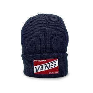 VANS (バンズ) apvs079 BAGLEY BEANIE [ニットキャップ] NAVY 620-005401-017|essense