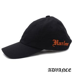 ADVANCE (アドヴァンス) ARS-5011 6-PANEL CAP [6パネルキャップ] BLACKxORANGE 694-000086-011|essense