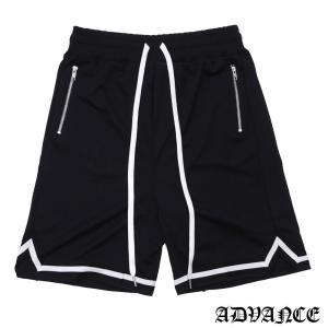 ADVANCE (アドヴァンス) ARS-6013 THROWBACK SHORT [ショーツ][ハーフパンツ][バスパン] BLACK 694-000092-051|essense