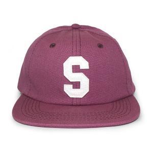 STUSSY (ステューシー) 131678-red FELT S CANVAS STRAPBACK CAP [ストラップバックキャップ] RED 620-006003-013|essense