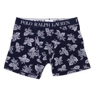 POLO RALPH LAUREN  (ポロ・ラルフローレン) RM3-K306 KNIT BOXER PANT [ボクサーパンツ][メンズ][下着][ギフト] NAVY 245-000196-057 essense