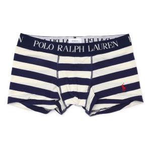 POLO RALPH LAUREN  (ポロ・ラルフローレン) RM3-J502L KNIT LOW-RISE PANT [ボクサーパンツ][メンズ][下着][ギフト] NAVYxOFF WHITE 245-000212-057 essense