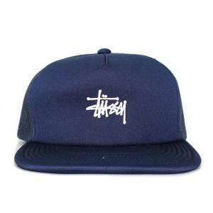 STUSSY (ステューシー)131703-navyTRUCKER MESH CAP[メッシュキャップ]BLACK620-006245-011(ヘッドウェア)|essense