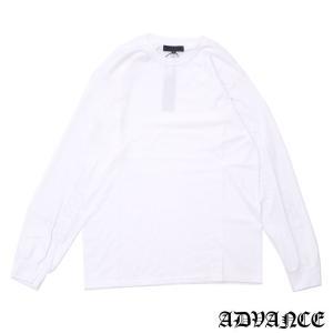 ADVANCE (アドヴァンス)ARS-7035L/S TEE[長袖Tシャツ][メンズ]WHITE694-000100-040(TOPS)|essense