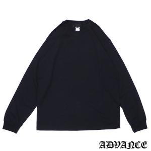 ADVANCE (アドヴァンス)ARS-7035L/S TEE[長袖Tシャツ][メンズ]BLACK694-000100-051(TOPS)|essense