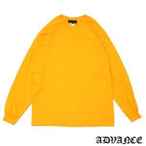 ADVANCE (アドヴァンス)ARS-7035L/S TEE[長袖Tシャツ][メンズ]YELLOW694-000100-058(TOPS)|essense