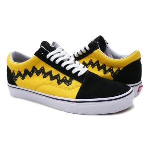 VANS(バンズ) Old Skool (オールドスクール) (Peanuts) Charlie Brown/Black420-000068-296(フットウェア)|essense
