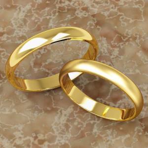 K18 鍛造!!甲丸 3mmペアリング(結婚指輪)★H0212Y-3Z|estacionjewelry|03