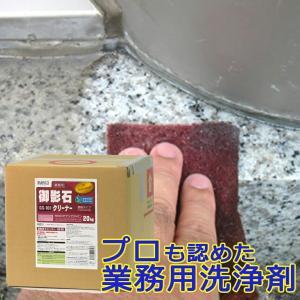 御影石クリーナー 20kg(キュービテナー入り)GS-101 ビアンコジャパン特約代理店 esteem-direct