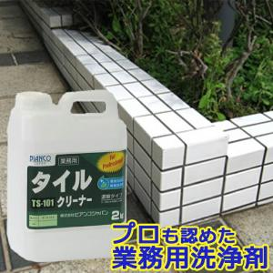 タイルクリーナー 2kg(ポリ容器入り)TS-101 ビアンコジャパン特約販売店|esteem-direct