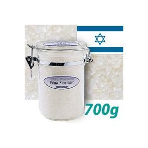 天然塩の入浴剤 【世界のバスソルト デッドシーソルト】 700g イスラエルの死海  バスソルト ミネラル塩|esthemart
