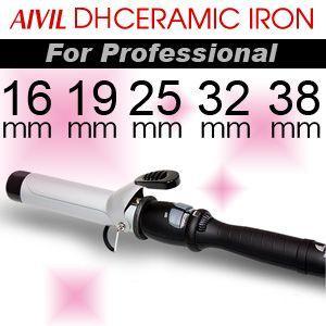 ■アイビル DHセラミックカールアイロン 25mm、32mm 【業務用カールアイロン】|esthemart
