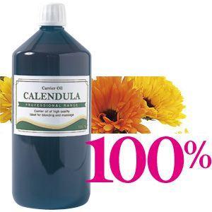 100%カレンデュラオイル キャリアオイル カレンドゥラ油 1000ml マッサージオイル カレンドゥラオイル esthemart