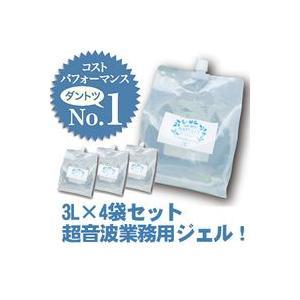 モアナチュリー キャビ&フラッシュジェル 4袋セット 3L×4袋 12L