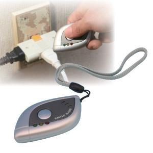 小型盗撮・盗聴発見器 電池式 切り替えスイッチ付き|estim