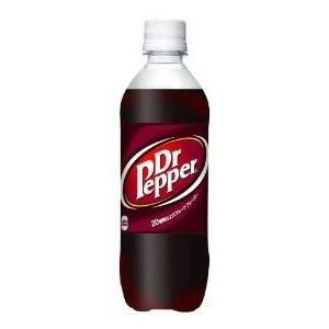 〔まとめ買い〕コカ・コーラ ドクターペッパー ペットボトル 500ml×24本(1ケース)|estim