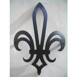 妻飾り 壁飾りフラダリ シンボル アイアン風壁飾り アルミ鋳物 エクステリア 外壁工事|estoah