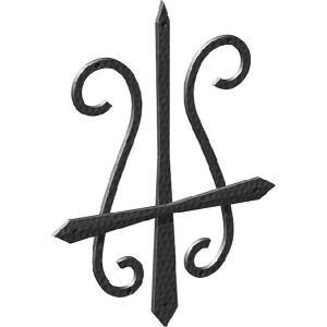 妻飾り 壁飾り妻飾り 11型 シンボル アイアン風壁飾り アルミ鋳物 エクステリア 外壁工事|estoah