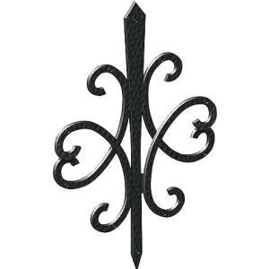 妻飾り 壁飾り妻飾り 44型 シンボル アイアン風壁飾り アルミ鋳物 エクステリア 外壁工事|estoah