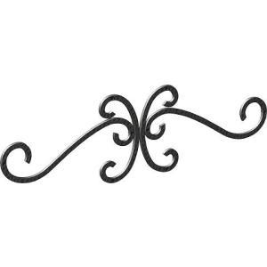 妻飾り 壁飾りワイド型妻飾り 41型 シンボル アイアン風壁飾り アルミ鋳物 エクステリア 外壁工事|estoah