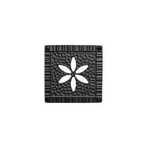 妻飾り 壁飾りパネル壁飾り 1型 シンボル アイアン風壁飾り アルミ鋳物 エクステリア 外壁工事|estoah