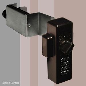 防犯グッズ ドア用補助錠 玄関ドアの鍵 どあロックガード ダイアルタイプ|estoah|05