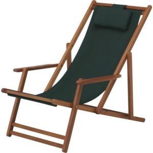 ガーデンチェア 折りたたみ椅子 折りたたみチェアー グリーン アカシア材使用 ベランダ椅子 リクライニングチェ ガーデンファニチャー|estoah