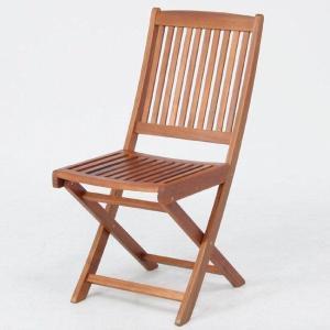 ガーデンチェア ベランダ椅子 折りたたみ椅子木製ガーデンチェアー幅425mm 2脚セット アカシア材使用 ガーデンファニチャー estoah