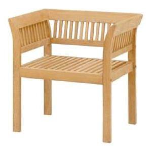 ガーデンチェア アームチェア Teak Style フウガアームチェア クッション付  チーク材使用 ベランダ椅子 ガーデンファニチャー estoah