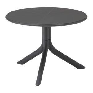 ガーデンテーブル イタリア製 Nardi スプリッツサイドテーブル ダークグレ− NAR-LT01DG プラスチック 組立式 ファニチャー 机|estoah