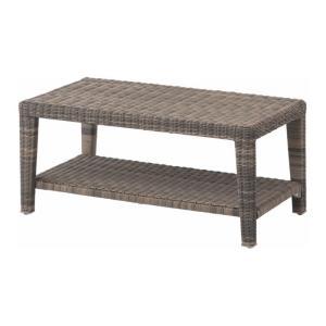 ガーデンテーブル 人工ラタン タリナ コーヒーテーブル900 ZHE-12LT サイドテーブル ファニチャー 机 庭 完成品 インテリア 屋外用家具|estoah