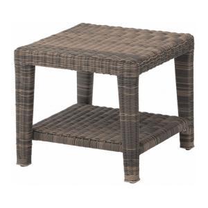 ガーデンテーブル 人工ラタン タリナ コーヒーテーブル450 ZHE-11LT サイドテーブル ファニチャー 机 庭 完成品 インテリア 屋外用家具|estoah