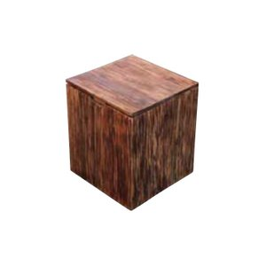 チェア スクラップボックスチェア 1脚 完成品 ダークブラウン バユル モダン 収納 椅子 室内向け 家具 インテリア|estoah