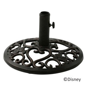 ガーデンパラソルスタンドベース  ディズニー  パラソルベース  ミッキーマウス  ガーデニンググッズ パラソル用品|estoah