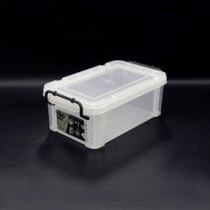 収納ボックス 収納ケース プラスチック製 タグボックス01 透明(クリア)収納箱 DIY、アウトドア用品などの整理に 重ね置き可能|estoah
