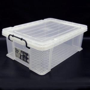 収納ボックス 収納ケース プラスチック製 タグボックス06 透明(クリア)収納箱 DIY、アウトドア用品などの整理に 重ね置き可能|estoah