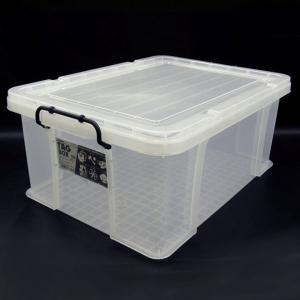 収納ボックス 収納ケース プラスチック製 タグボックス08 透明(クリア)収納箱 DIY、アウトドア用品などの整理に 重ね置き可能|estoah