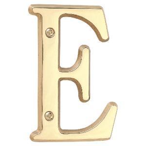 表札 真鍮 切 文字 戸建 表札 ブラスレター 102シリーズ 英字 装飾壁飾り シンプル サインプレート ネームプレート 店舗 看板 屋外 外構|estoah