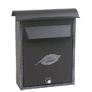 ポスト 郵便受け 壁掛け郵便ポスト デザインポスト 鍵付き ノーヴルポストシンプル アイアン 壁掛け  レトロスタイル|estoah
