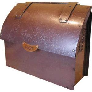 レトロ郵便受けポスト 銅製ポスト2型 ハンドメイド