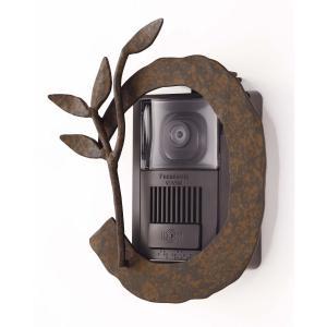 インターホンカバー アイアン インターフォンカバー4  装飾 エクステリア 外構工事 リフォーム|estoah