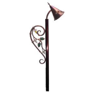 ガーデンライト 庭園灯 屋外 照明 外灯 スタンドライト アプローチライト レトロ ガーデニング ハンドメイド 照明器具 おしゃれ|estoah