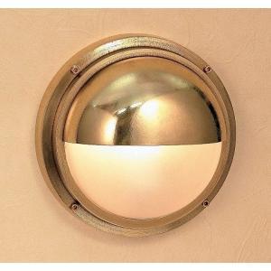 玄関照明 玄関 LED 照明 門柱灯 門灯 外灯 屋外 マリンライト bh2225 くもりガラス ブラケット 真鍮 照明器具 おしゃれ E26 LEDランプ 12W estoah