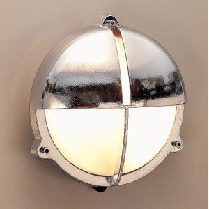 玄関照明 玄関 照明 LED 門柱灯 門灯 外灯 屋外 マリンライト bh2428CR FR くもりガラス  照明器具  E17 電球型LED 5W estoah