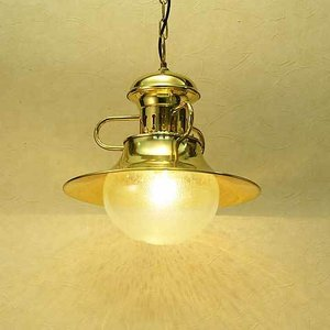 室内 照明 マリンライト p3001H クリアータイプ インテリア 照明 ペンダントライト 天井照明 真鍮 照明器具 おしゃれ estoah